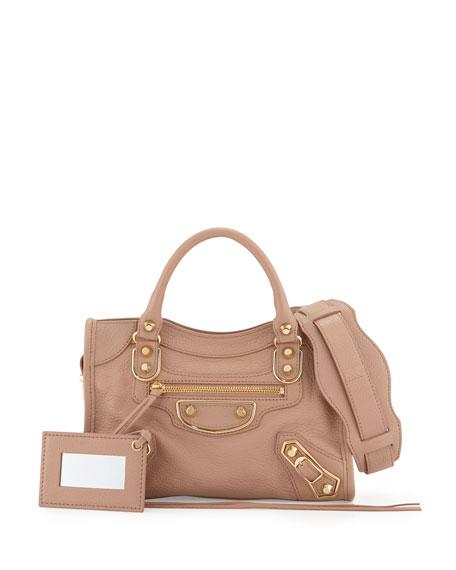 prix compétitif 250ad 96064 Edge City Mini Leather Satchel Bag Rose