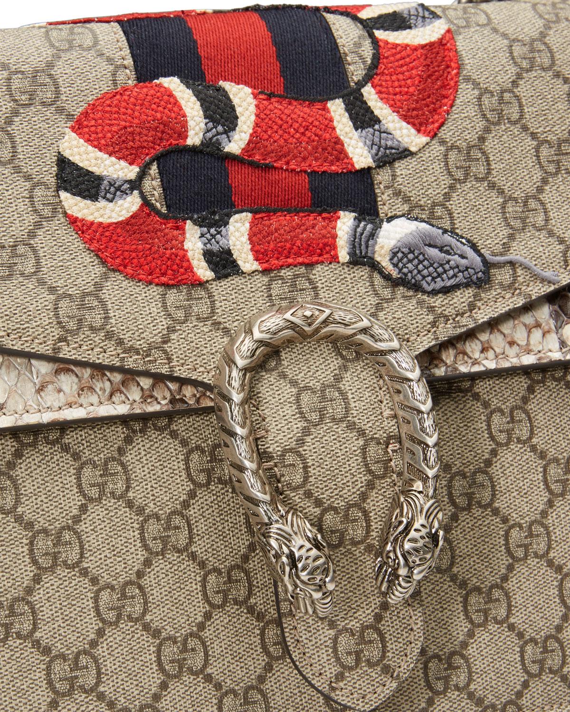 cc3dfe61e Gucci Dionysus Snake-Embroidered Crossbody Bag, Multi   Neiman Marcus