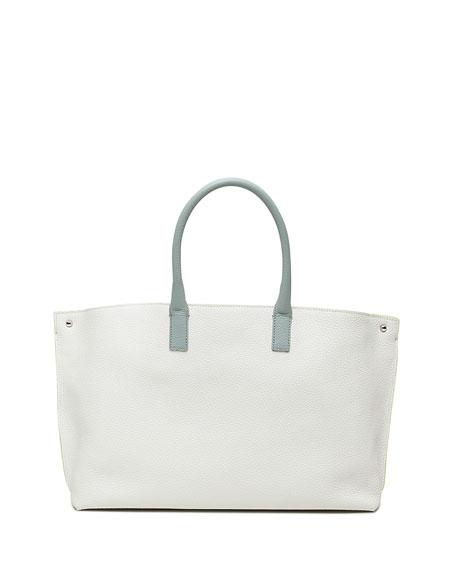 Ai Small Tri-Color Messenger Bag, Green/White
