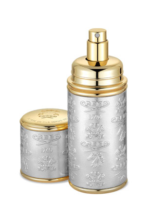 CREED 1.7 oz. Gold Trim/Silver Leather Atomizer