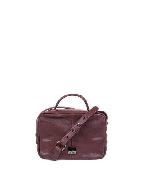 Liv Mini Leather Camera Bag