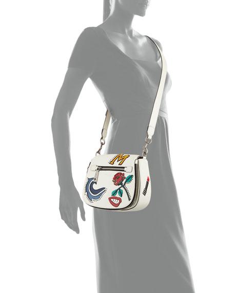 MJ Collage Small Nomad Saddle Bag
