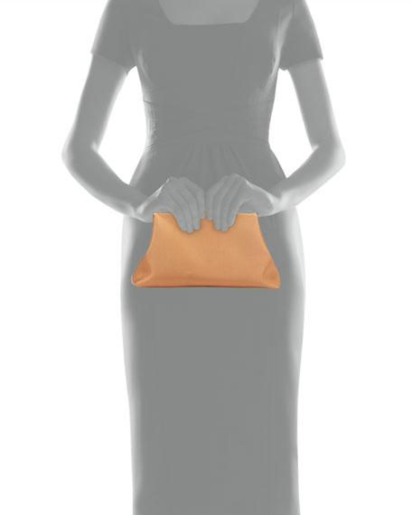 Mini Volume Grosgrain Clutch Bag