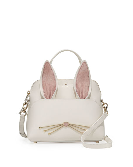 make magic maise small bunny satchel bag, multi