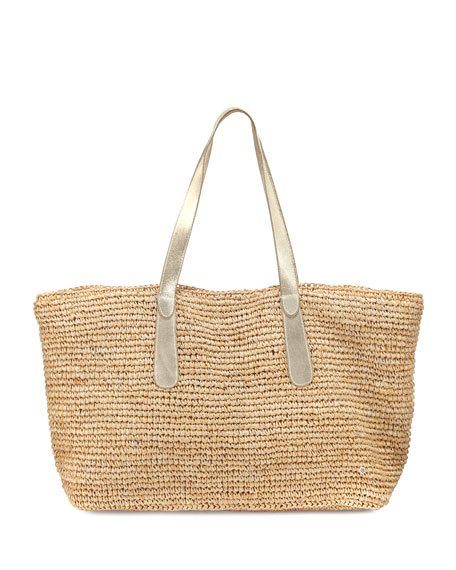 Flora Bella Big Sur Beach Tote Bag, Beige