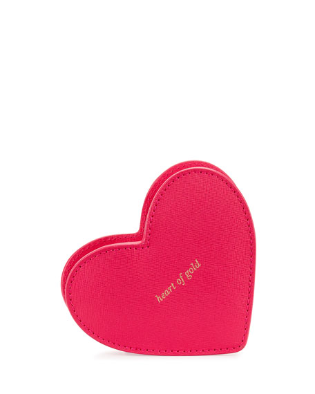 kate spade new york be mine heart coin