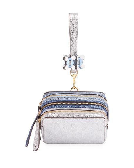 The Stack Circulus Wristlet Bag, Sky