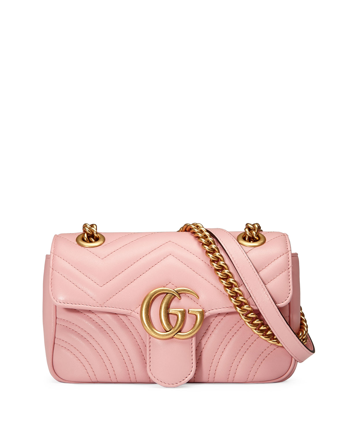 9e866fecb2d0 Gucci GG Marmont 2.0 Mini Quilted Leather Crossbody Bag | Neiman Marcus
