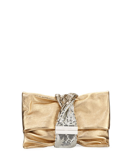Jimmy Choo Chandra Small Crystal Clutch Bag