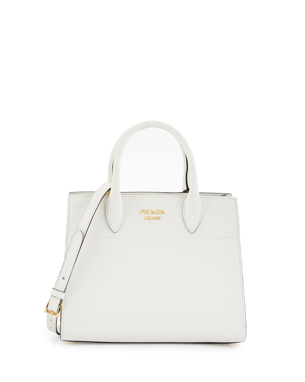 ff2783f9f511 Prada Medium Vitello Daino Open Tote Bag