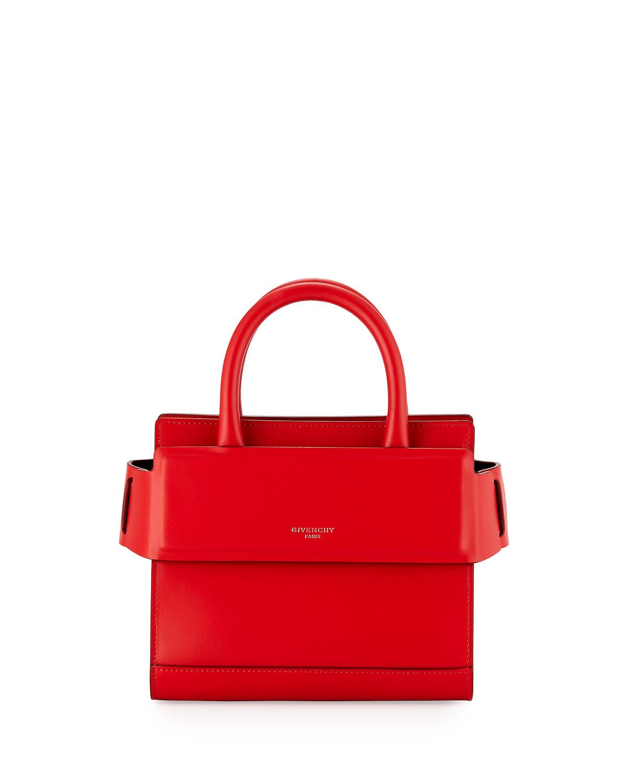 1829a210129 Givenchy Horizon Nano Smooth Crossbody Bag, Red   Neiman Marcus