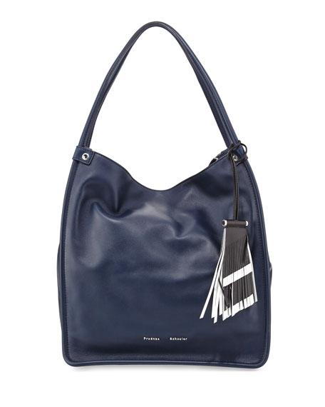Proenza Schouler Medium Tassel Tote Bag, Indigo