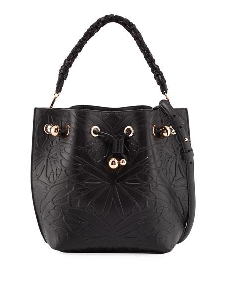 Sophia Webster Romy Butterfly Bucket Bag, Black