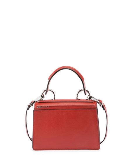 Hava Medium Top-Handle Satchel Bag, Brick