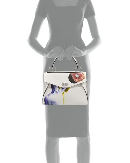 Hava Medium Printed Top Handle Bag