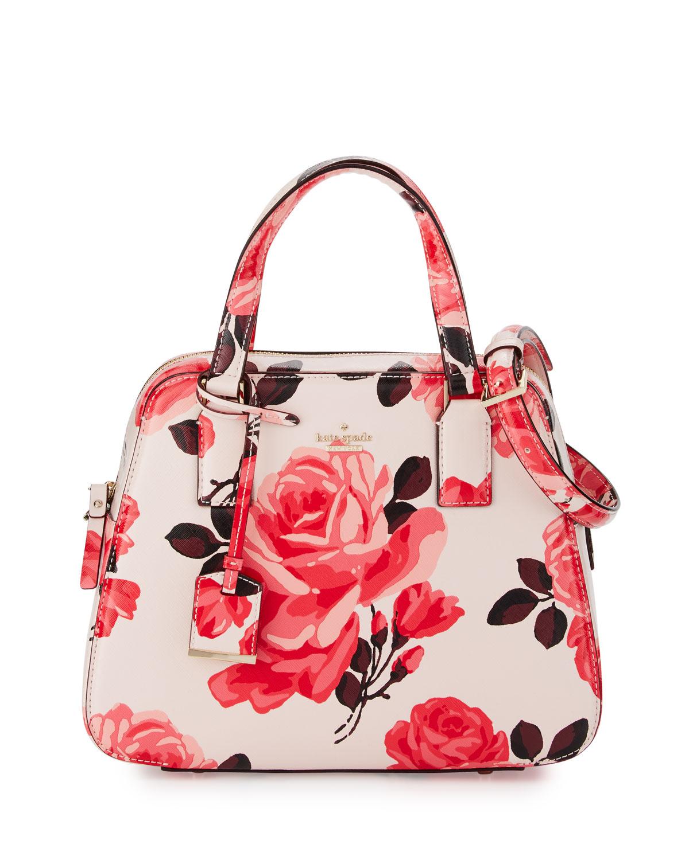 e2a3aaaa51b kate spade new york cameron street roses little babe satchel bag ...