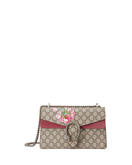 Gucci Dionysus Geranium-Print Medium Shoulder Bag