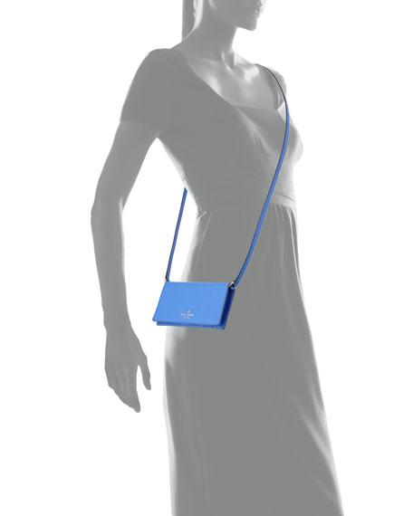 iphone 6 crossbody case, adventure blue