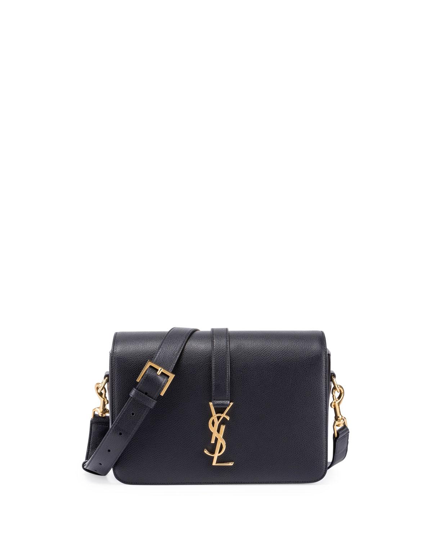 6ec3adaa57ff Saint Laurent Université Medium Leather Shoulder Bag