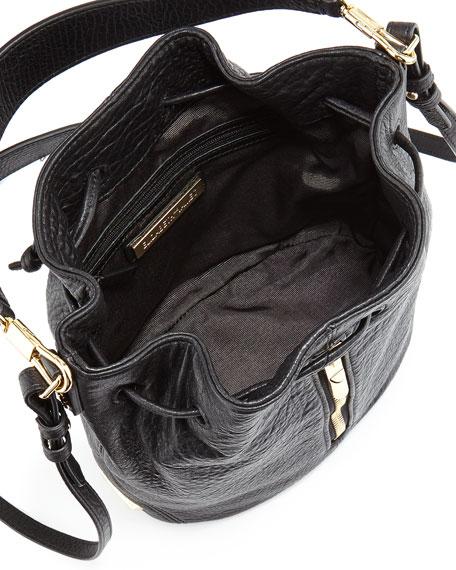 Cynnie Mini Large-Grain Bucket Bag
