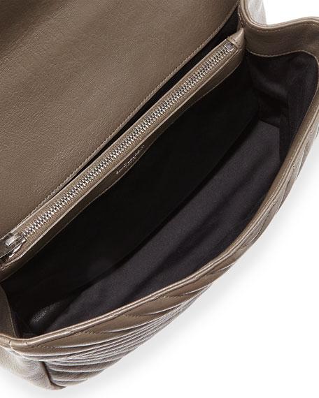 Monogram Collège Large Chain Shoulder Bag