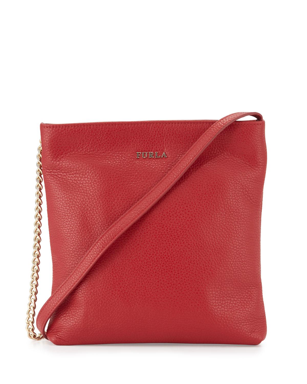 a9be2849dd Furla Julia Small Leather Crossbody Bag