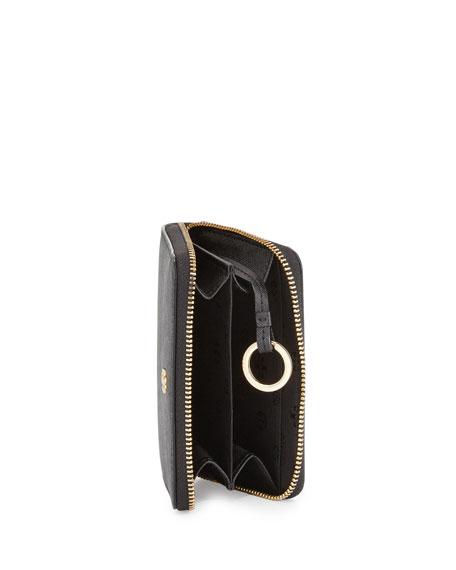 Robinson Zip Coin Case, Black