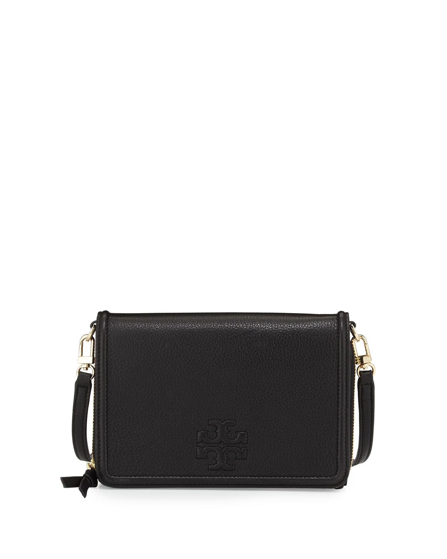 e1cd5fd5f7c Tory Burch Thea Flat Wallet Crossbody Bag