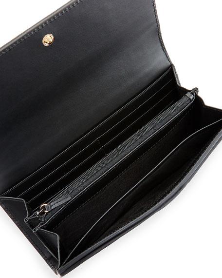 Gucci Signature Continental Wallet, Black