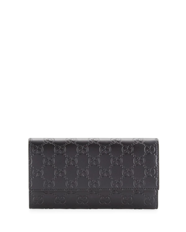 c1e74edf26a Gucci Gucci Signature Continental Wallet