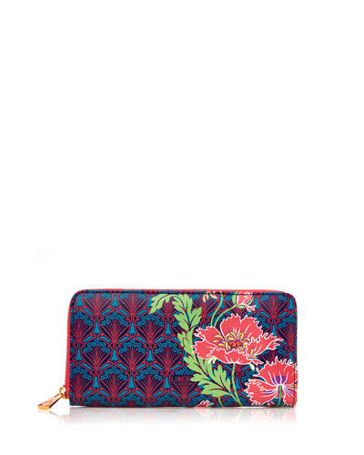 Paradise Long Zip-Around Wallet