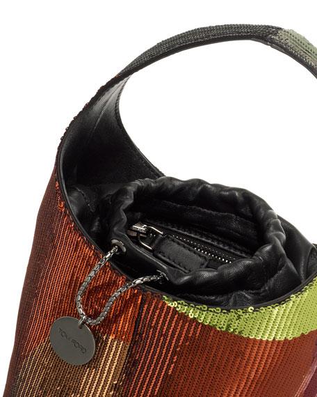 Miranda Medium Sequined Hobo Bag