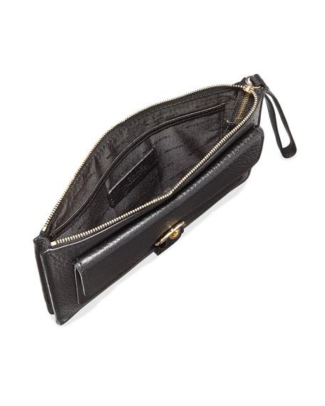 008fa890e52081 MICHAEL Michael Kors Cooper Medium Leather Wristlet