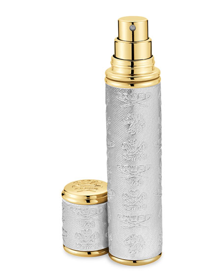 Creed 0.33 oz. Gold Trim/Silver Leather Atomizer