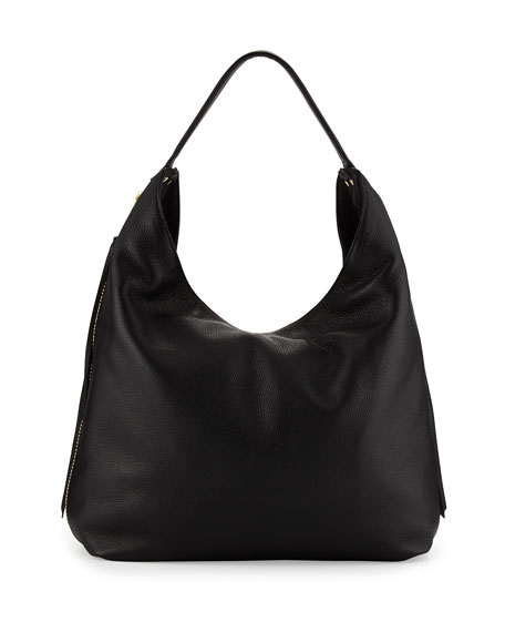 Rebecca Minkoff Bryn Leather Hobo Bag, Black