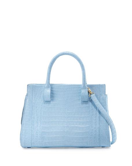 Nancy Gonzalez Daisy Medium Crocodile Satchel Bag