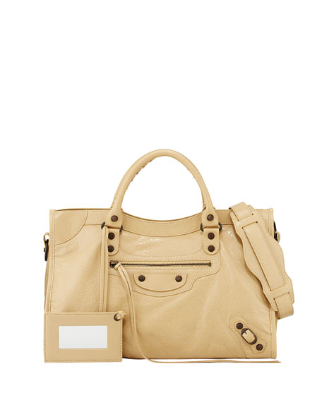 Balenciaga Classic City Bag, Beige