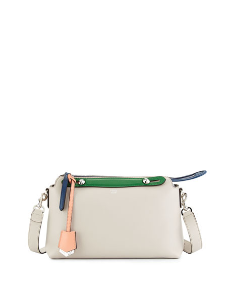 Fendi By the Way Small Tricolor Satchel Bag