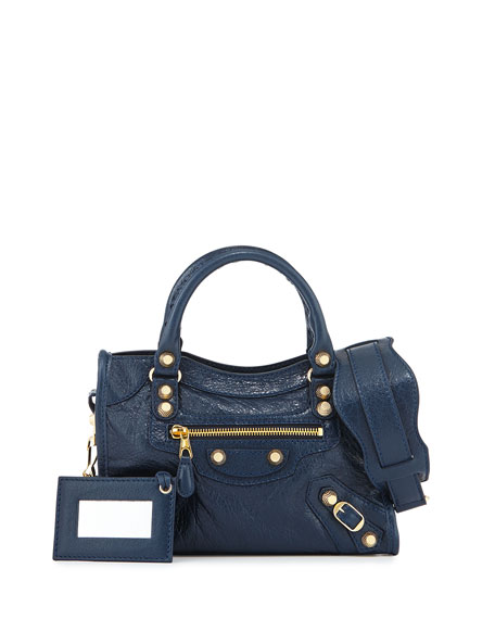 Balenciaga Giant 12 City Mini Lambskin Tote Bag,