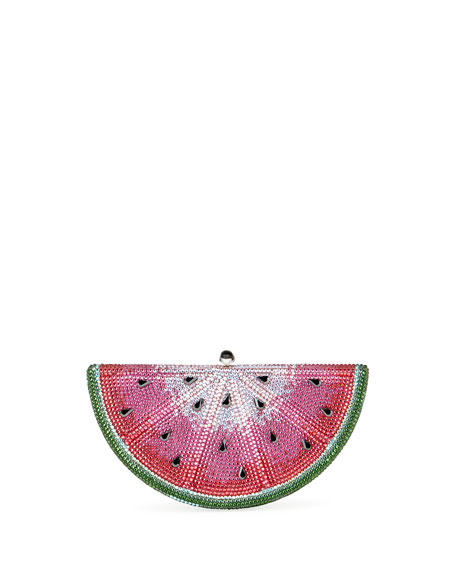 Judith Leiber Couture Slice Watermelon Clutch Bag