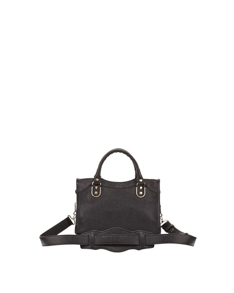 Metallic Edge Classic Mini City Crossbody Bag