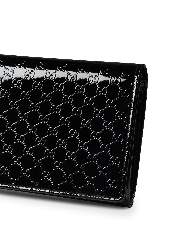 db939f02a Gucci Broadway Microguccissima Patent Leather Evening Clutch Bag | Neiman  Marcus