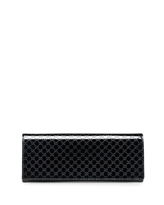 e90a3d39c Gucci Broadway Microguccissima Patent Leather Evening Clutch Bag ...
