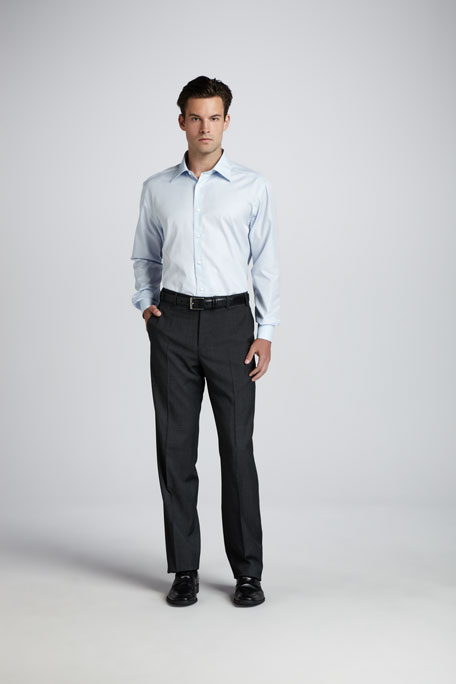 Basic Dress Shirt, Blue