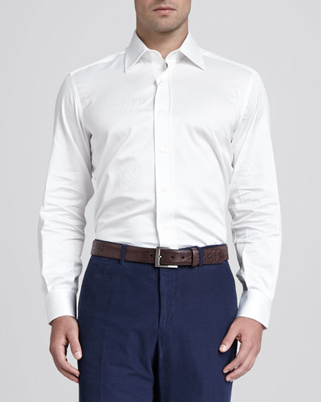 Basic Dress Shirt, White