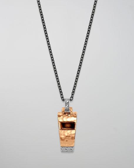 Palu Whistle Pendant Necklace
