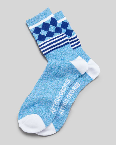Jester Men's Socks, Blue/Navy