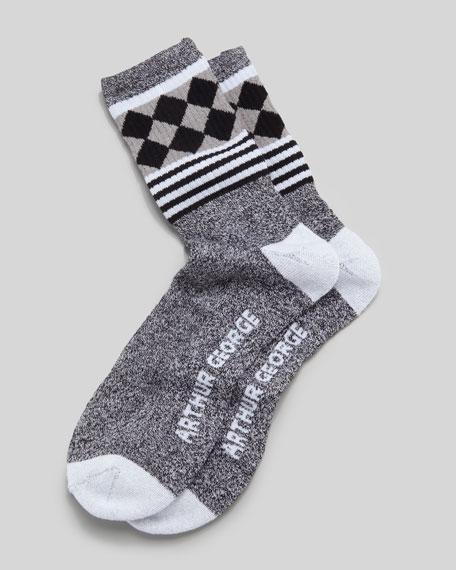 Jester Men's Socks, Black