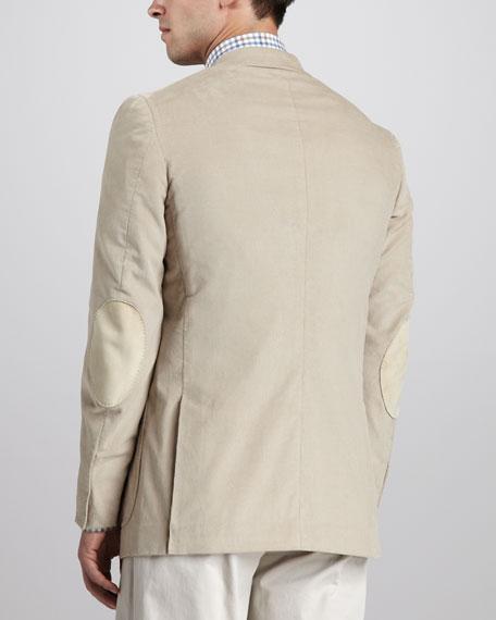 Fine-Wale Corduroy Sport Coat, Tan