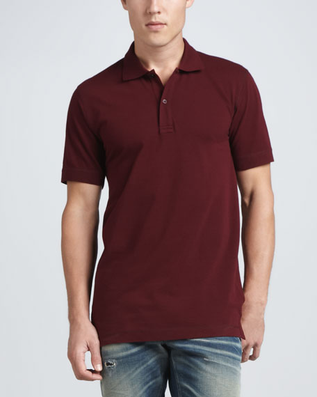 Logo Polo, Burgundy
